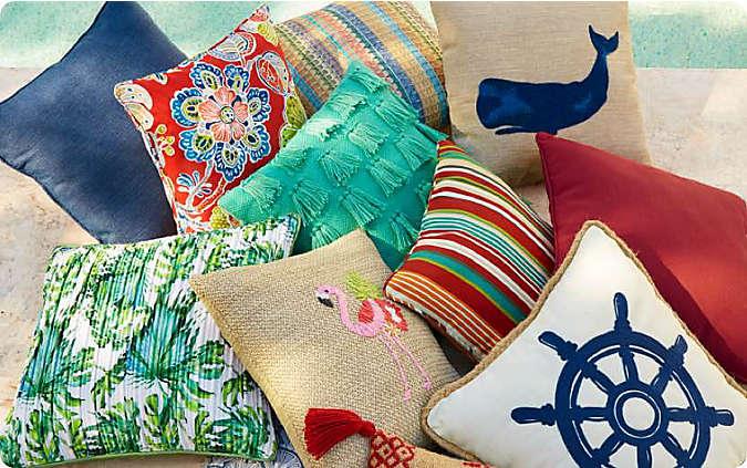 25% off select outdoor pillows