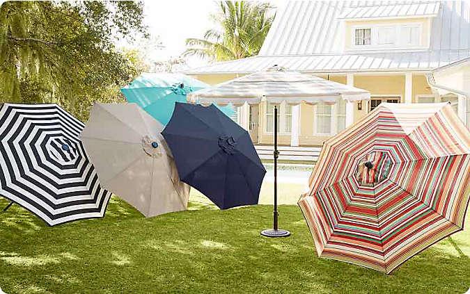 25% off select patio umbrellas