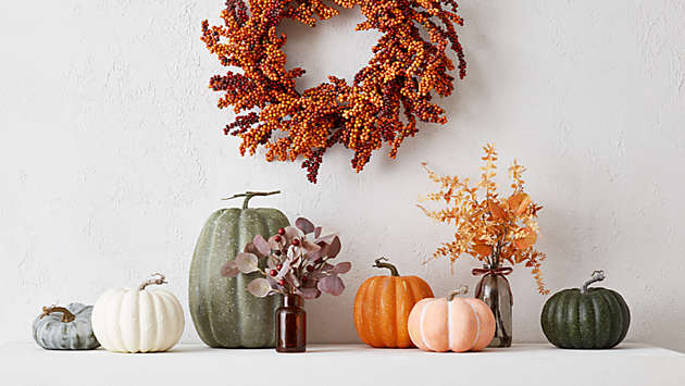 save up to 25% on fall decor