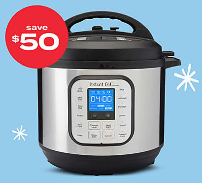 $50 off Instant Pot® 10-in-1 Duo Evo 6qt Plus