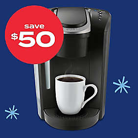 $50 off Keurig® K-Select® Single-Serve K-Cup® pod coffee maker