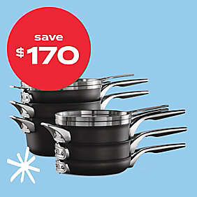 $170 off Calphalon® Premier™ nonstick 10pc cookware set