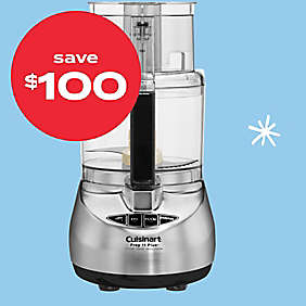$100 off Cuisinart® Prep 11 Plus™ food processor