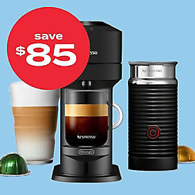 $85 off Nespresso® Vertuo Next coffee & esspresso maker by De'Longhi