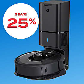 up to 25% off iRobot® vacuums