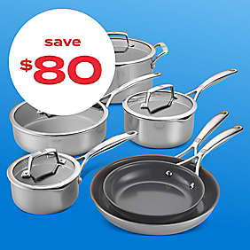 $80 off Zwilling® J.A. Henckels 10pc cookware set