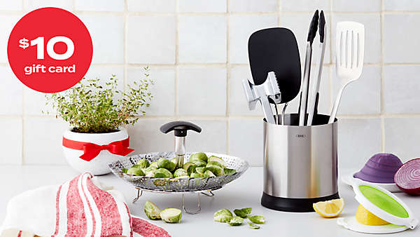 $10 gift card with $30 OXO® kitchen gadgets purchase