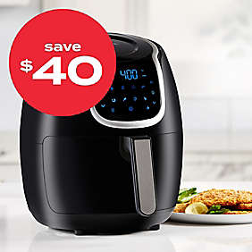 up to $40 off air fryers