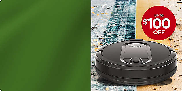 Up to $200 OFF Select Shark® Vacuums
