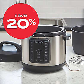 20% off Crock-Pot® 8qt Express Crock XL programmable multi-cooker