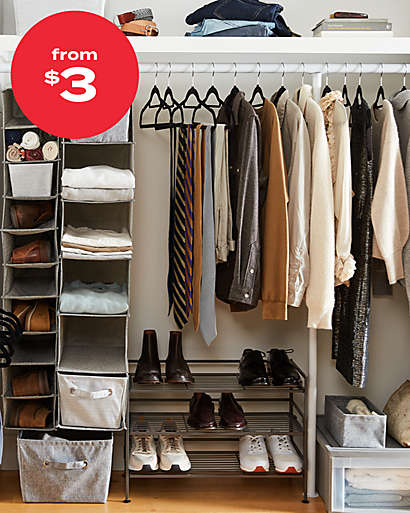 up to 25% off closet org
