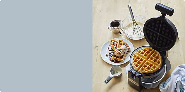 Let's Brunch! Shop Waffle Makers and More
