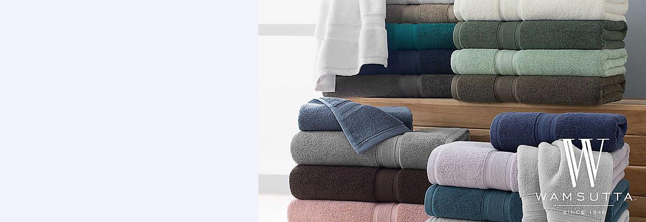 20% off Wamsutta® Icon PimaCott® bath towels