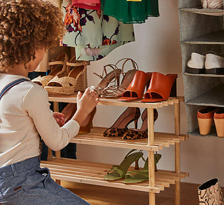 organize better with shoe storage