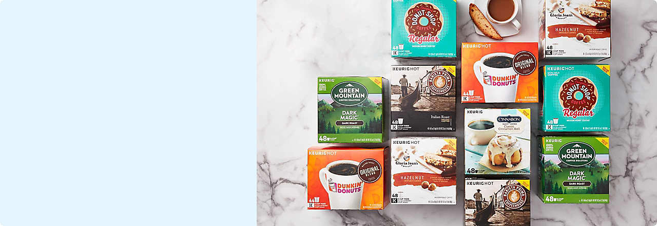 20% OFF Select Keurig® K-Cup® Pods