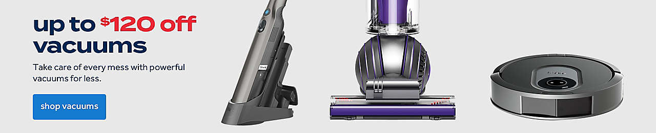 up to $120 off dyson vacuums
