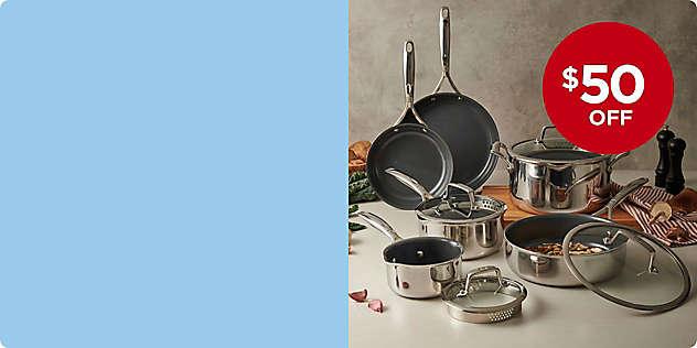 $50 OFF Zwilling® J.A. Henckels Energy Plus Cookware thru 2/29