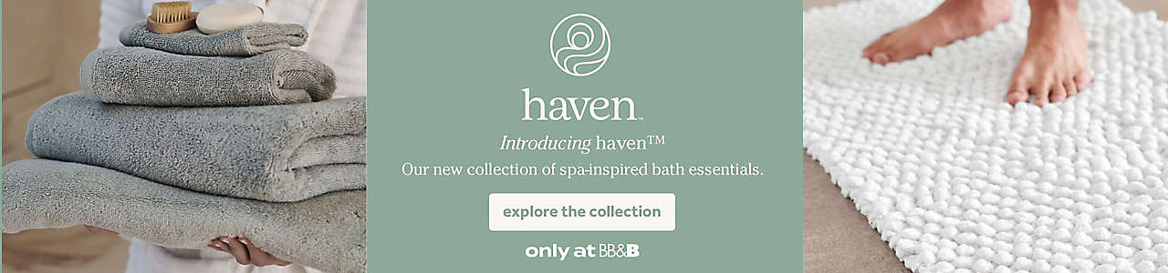 Introducing our new collection of spa-inspired bath essentials.