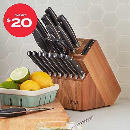 Chicago Cutlery® knife block set