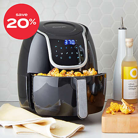 up to 20% off air fryers