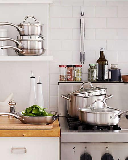Cookware Store Kitchen Pots Pans Bed Bath Beyond