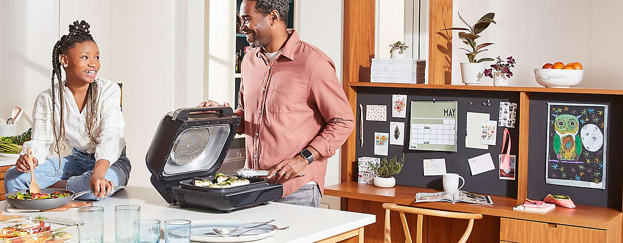 weeknights, happier Make tasty food easier with air fryers, slow cookers & more.