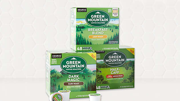 $20 off Green Mountain Coffee® K-Cup® pods 48ct