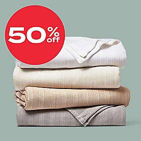 up to 50% off Wamsutta® bedding