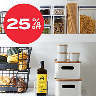 up to 25% off kitchen org