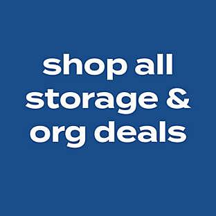 shop all storage & org deals
