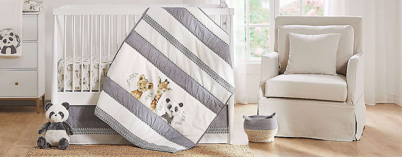 Coordinate your nursery with the perfect bedding set.