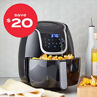 up to $20 off air fryers