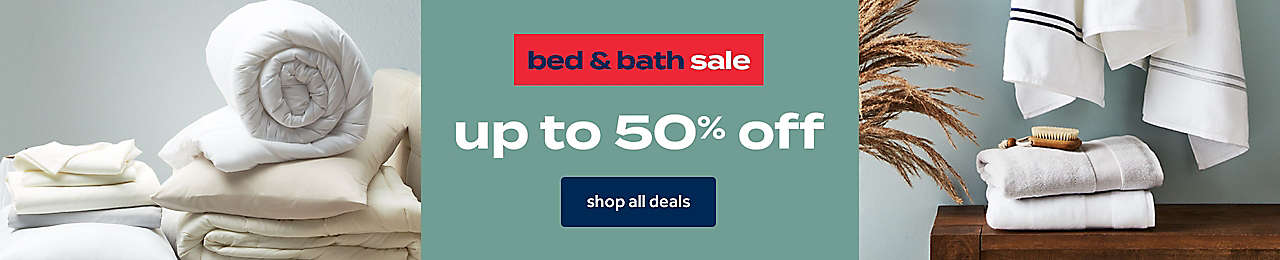 Shop our best bedding & bath deals—hurry, these won't last!