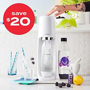 SodaStream® Fizzi™ sparkling water maker starter kit