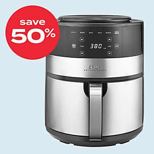 CRUX® Artisan Series 4.6qt air fryer