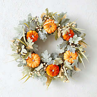 Go with a garland that gives off warm fall vibes.