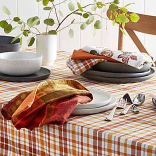 fall table linens