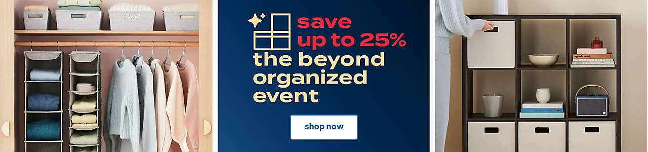save up to 25% the beyond organized event