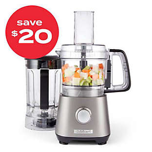 Cuisinart® compact food processor/blender