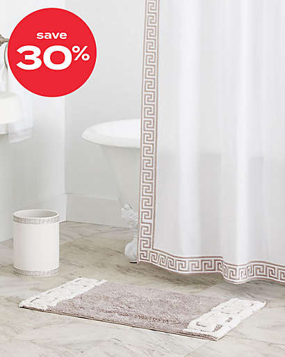 up to 30% off bath collections