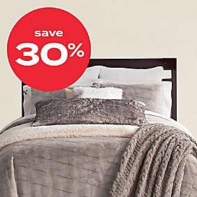 30% off select UGG® bedding