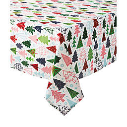 H for Happy™ Holiday Christmas Tree Forest Tablecloth