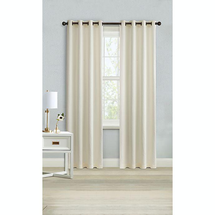 Alternate image 1 for Wamsutta® Montville 95-Inch Grommet Light Filtering Window Curtain Panel