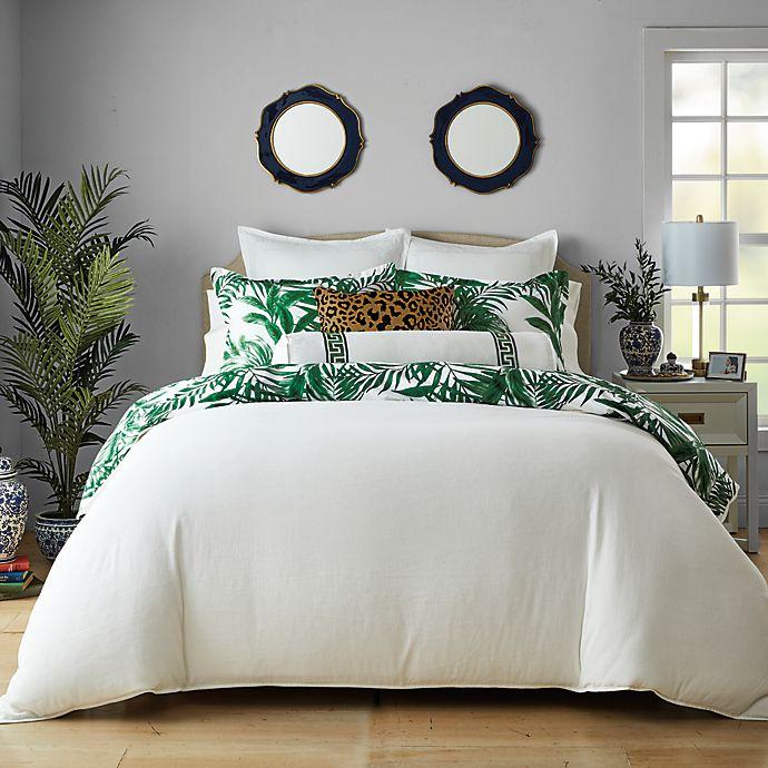 Alternate image 1 for Wamsutta® St. George 3-Piece Reversible Comforter Set in Bright White