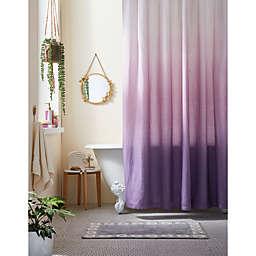 Wild Sage™ 72-Inch x 72-Inch Maylin Ombré Shower Curtain in Pink/Purple