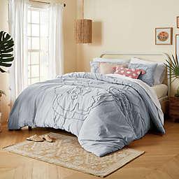 Wild Sage™ Corinna 2-Piece Twin Comforter Set in Blue Fog