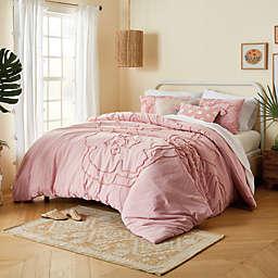 Wild Sage™ Corinna 3-Piece Full/Queen Comforter Set in Peachskin