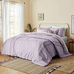 Wild Sage™ Keilana Border 2-Piece Twin/Twin XL Duvet Cover Set in Purple