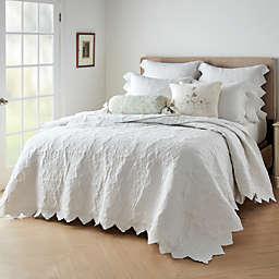 Wamsutta® Vintage Peillon 3-Piece Quilt Set in Bright White