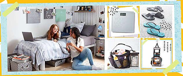 The College Shop: Dorm Decor & College Essentials | Bed Bath